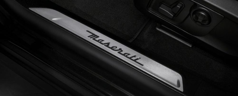 Detailing on the 2020 Maserati Levante Interior