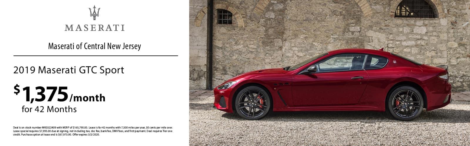 Maserati GTC Sport
