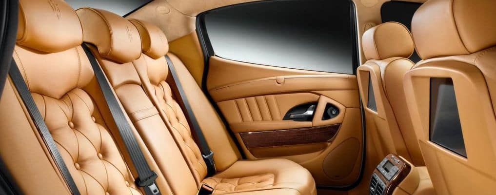 Maserati Interior Leather