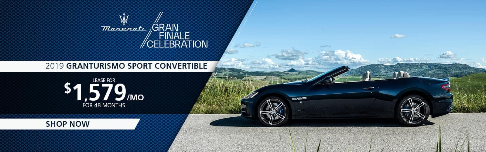 2019 Granturismo Sport Convertible