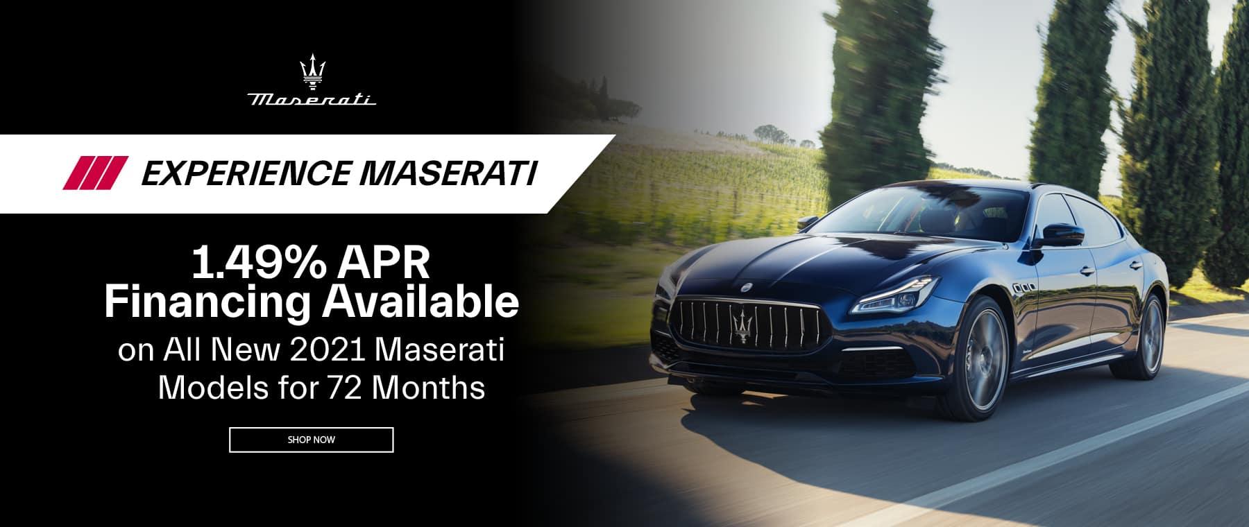 MaseratiCNJ_ExperinceMaserati_WB_July21 Offers_228993