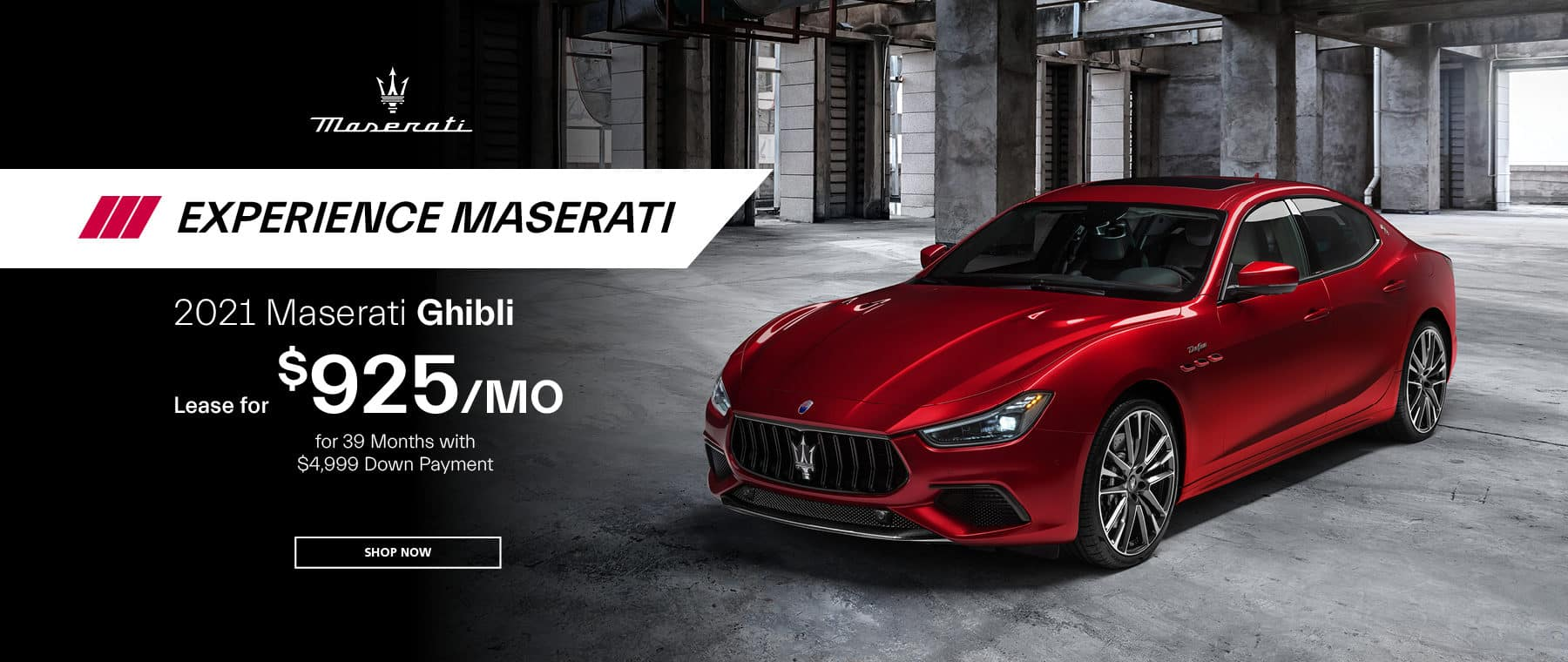 red 2021 Maserati Ghibli
