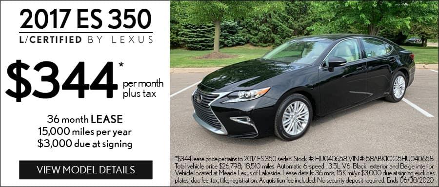 Certified Lexus Lease Utica MI
