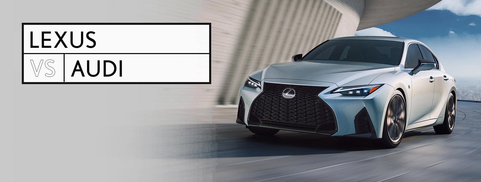 Lexus vs Audi Metro Detroit