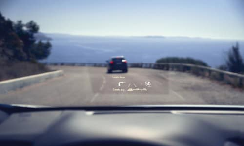 Lexus RX Heads Up Display