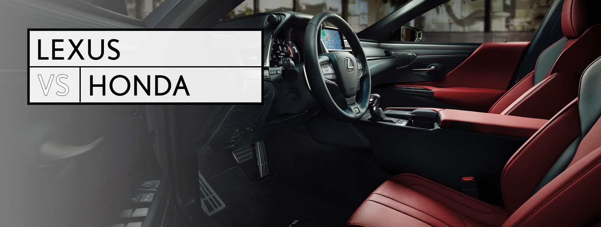 Lexus vs Honda Utica MI
