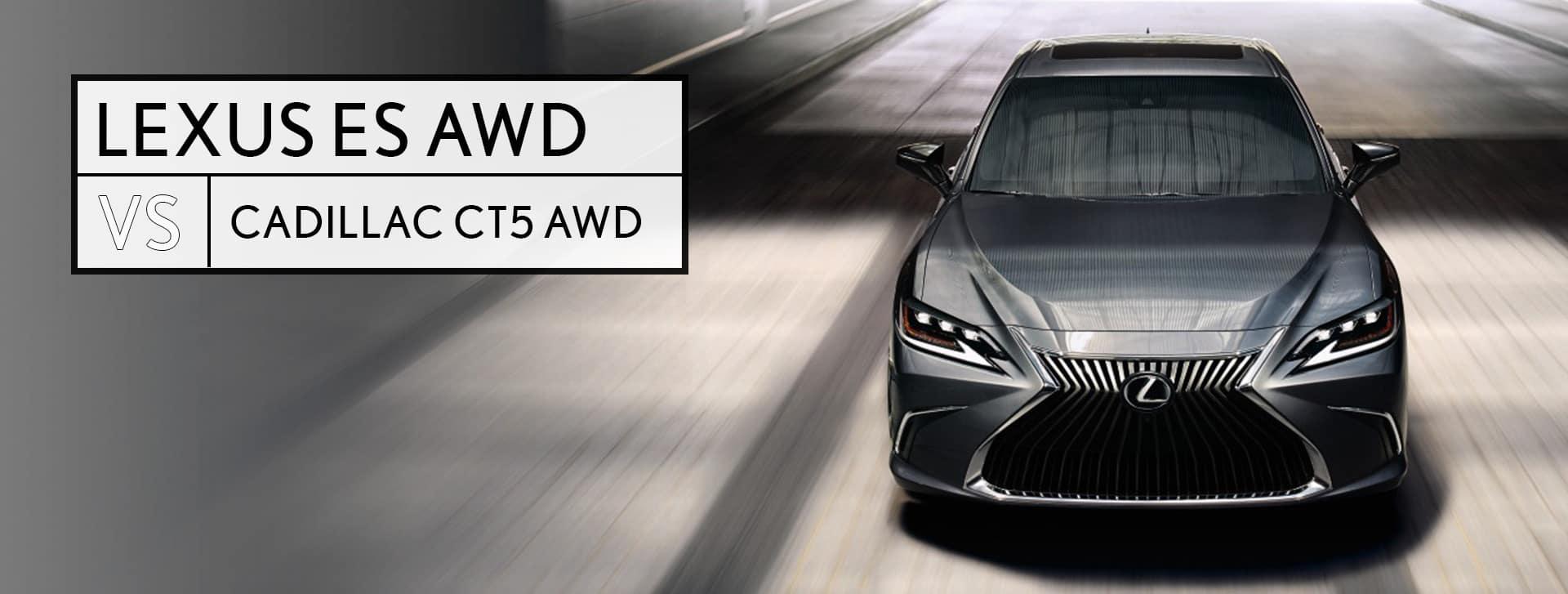 Lexus ES vs Cadillac CT5 Southfield MI