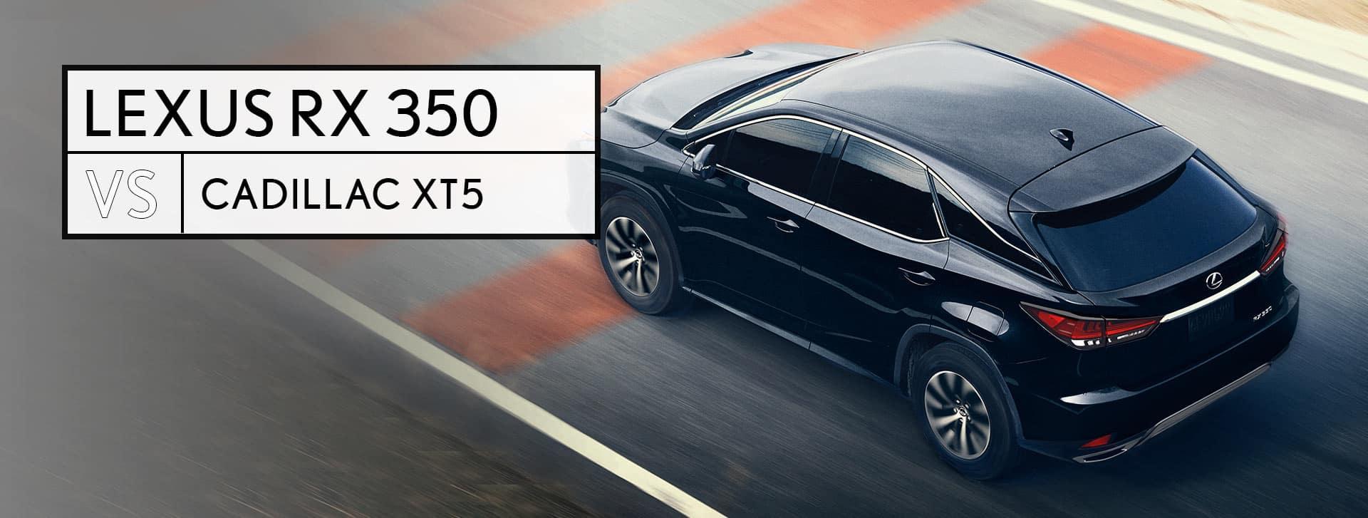Lexus RX vs Cadillac XT5 Utica MI