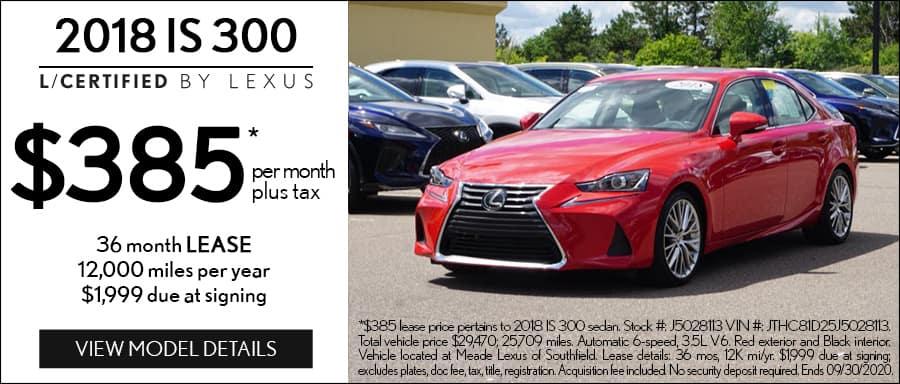 Certified NX Lexus Lease Southfield MI