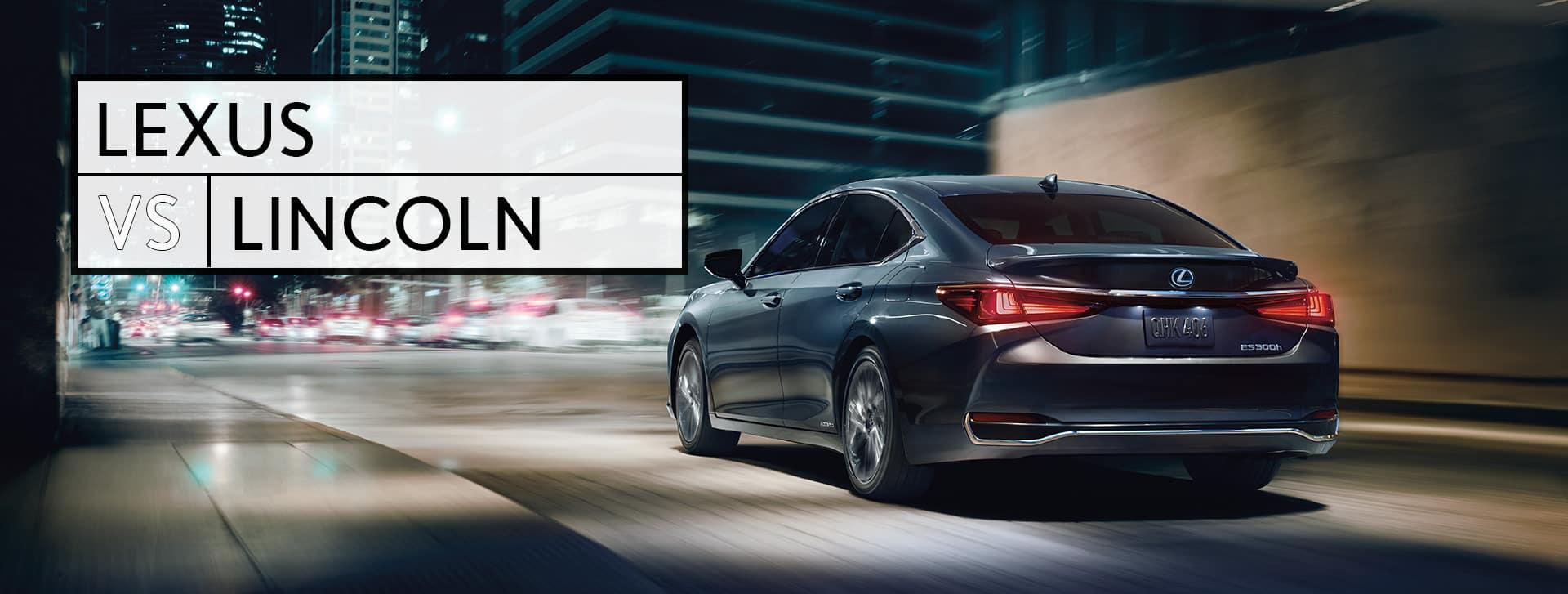 Lexus vs Lincoln Southfield MI