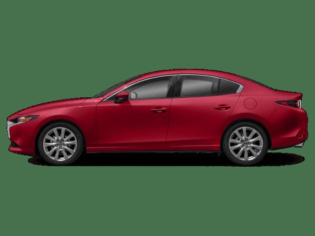 2019 Mazda3 sedan side lg
