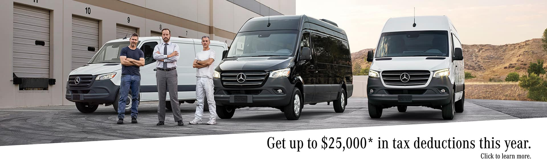 Mercedes-Benz Van Tax Deduction