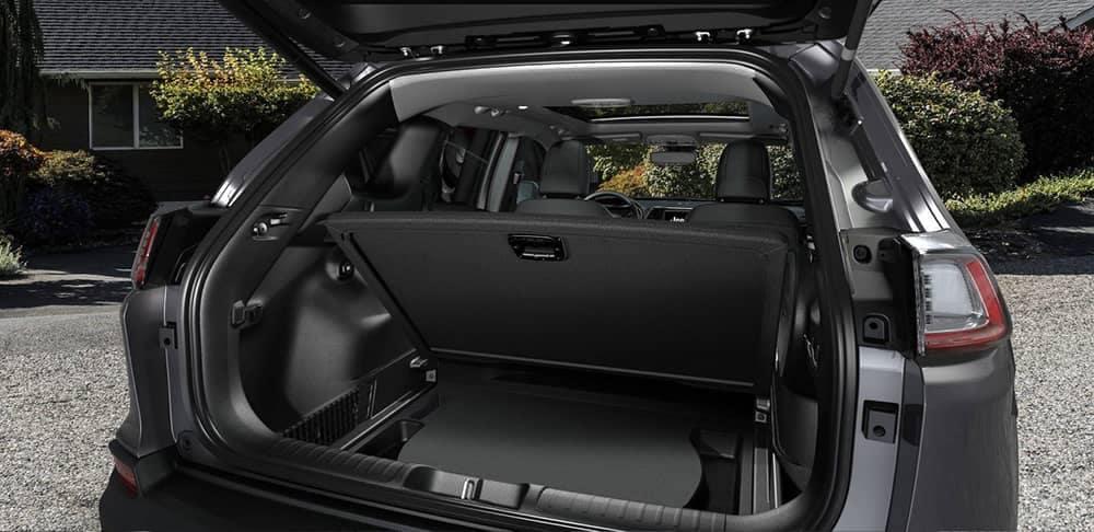 2019 Jeep Cherokee Interior Space