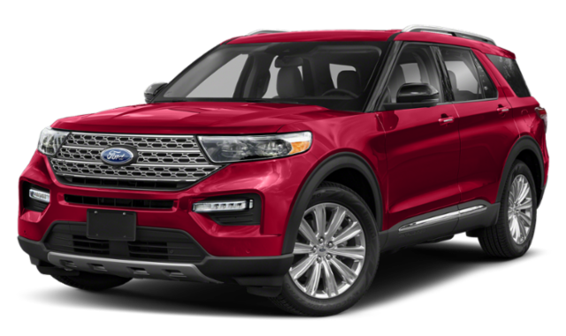2020 ford explorer red exterior