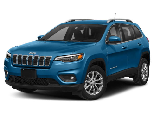 2020 Blue Jeep Cherokee
