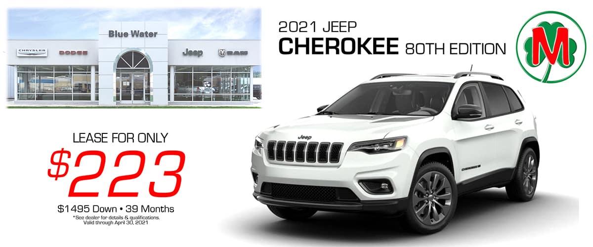 1200 Jeep Cherokee April 2021