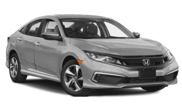 New 2019 Honda Civic LX FWD Sedan Auto
