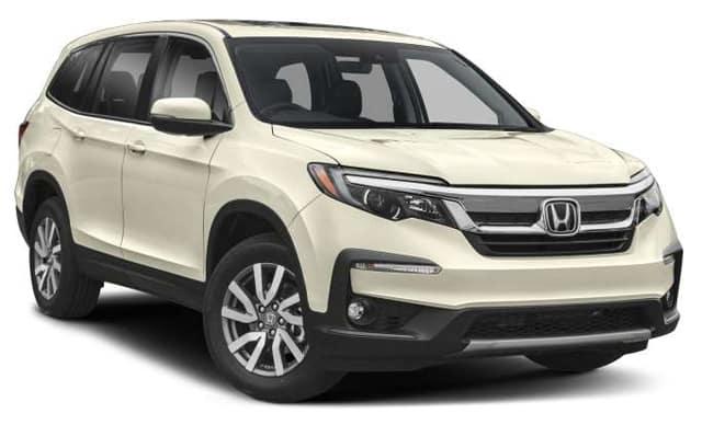 New 2019 Honda Pilot EX-L AWD SUV Auto