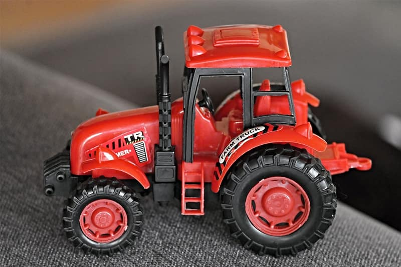 toys for tots toy tractor