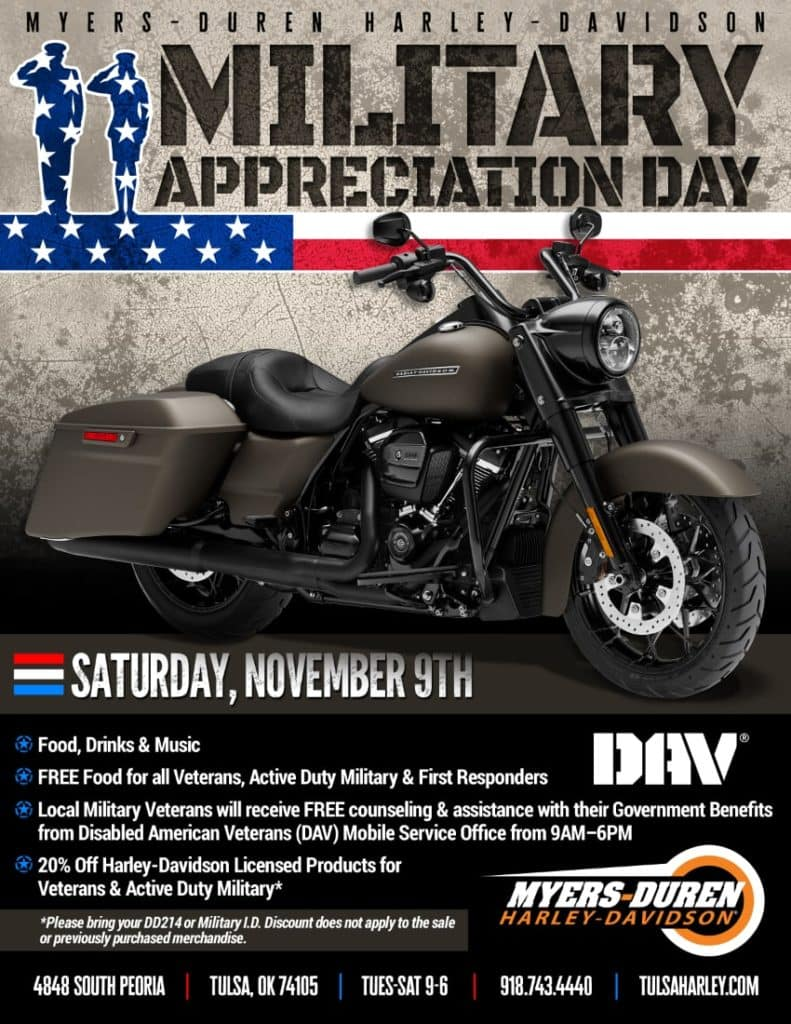 Military Appreciation Day at Myers-Duren Harley-Davidson