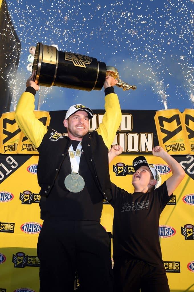 Andrew Hines NHRA Pro Stock Win
