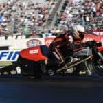 Andrew Hines NHRA Pro Stock Drag Bike