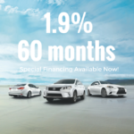 Special Financing at Lexus Dominion