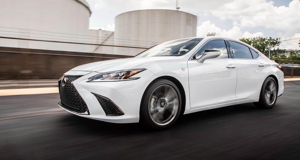 Lexus ES 350 F SPORT Ultra White