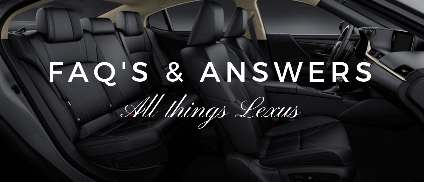 FAQs | North Park Lexus at Dominion