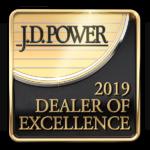 2019 Dealer of Excellence J.D. Power