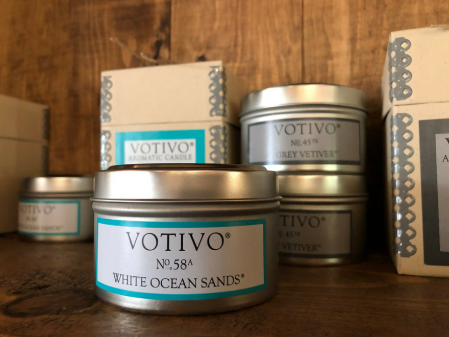 Votivo Candles at The Boutique