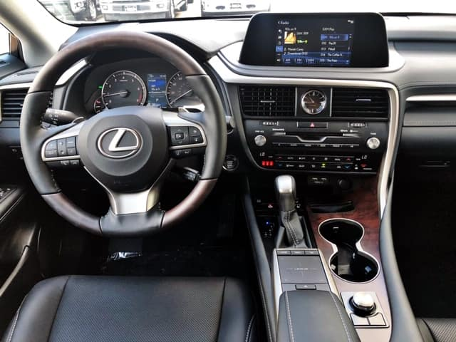 2020 RX 350 with Black interior