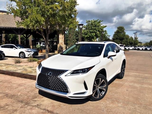 Eminent White 2020 Lexus RX