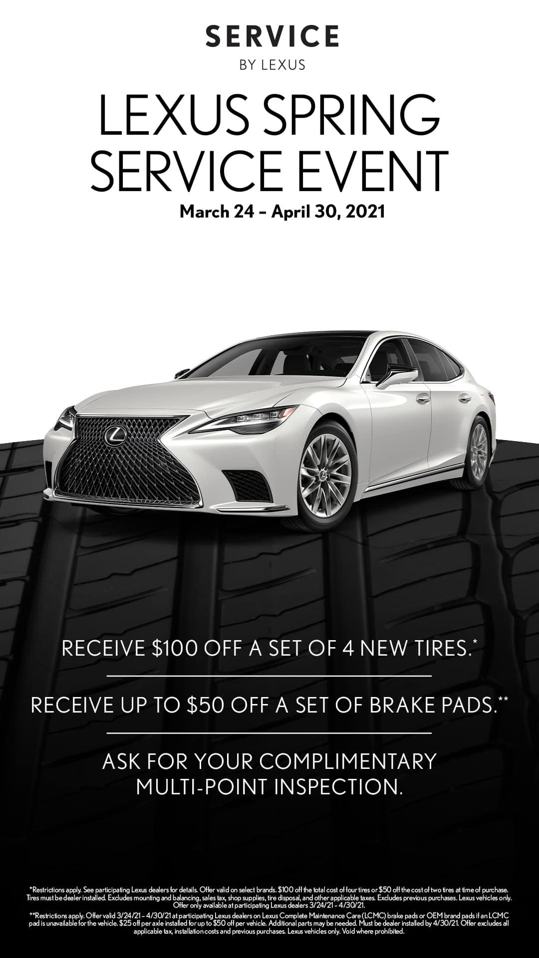 Lexus Spring Tire Event 2021