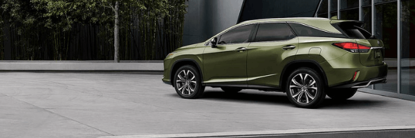 2020 RX 350L in Nori Green