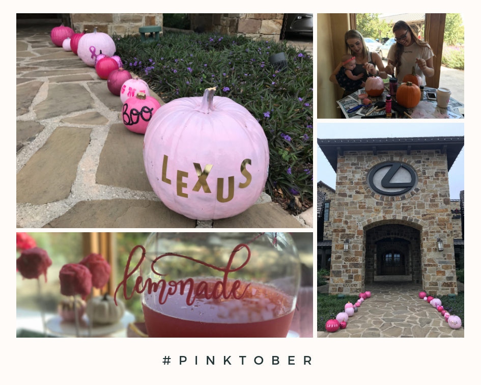PINKtober at Lexus Dominion