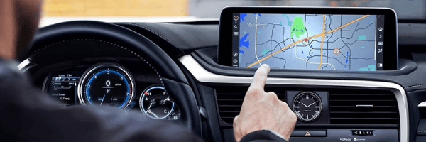 2020 RX with touchscreen navigation and multimedia display