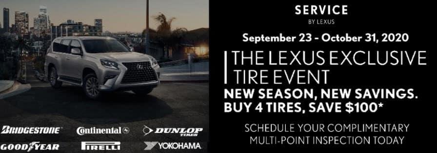 Lexus- Tire Event