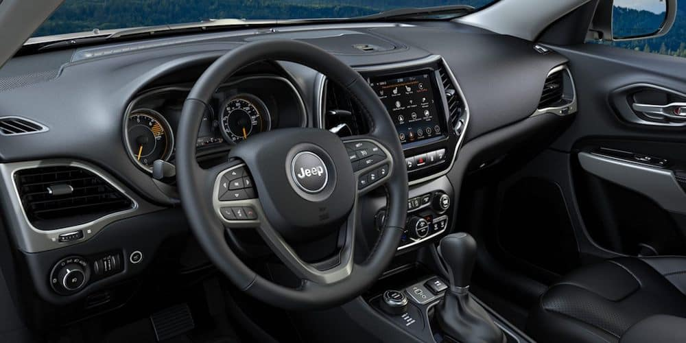 2020 Jeep Cherokee Front Interior and Dash