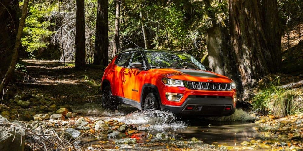 2020 Jeep Compass Trailhawk in Water