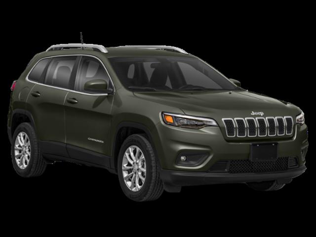 Dark Green 2020 Jeep Cherokee