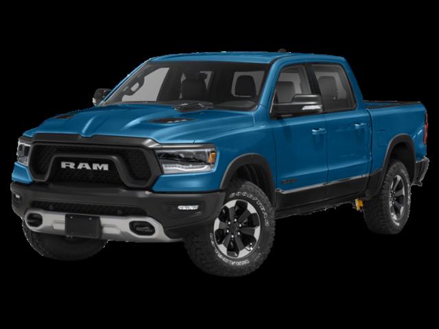 Blue 2020 RAM 1500 Rebel