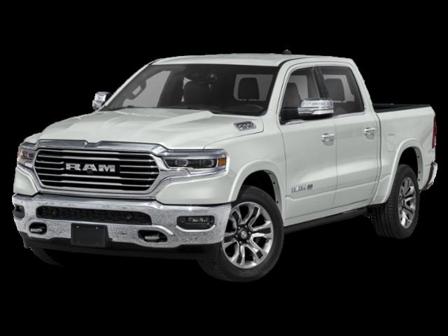 White 2020 RAM 1500 Laramie Longhorn