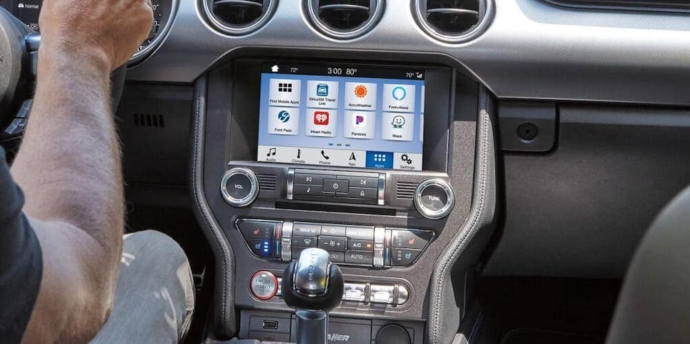 Ford Sync Touchscreen