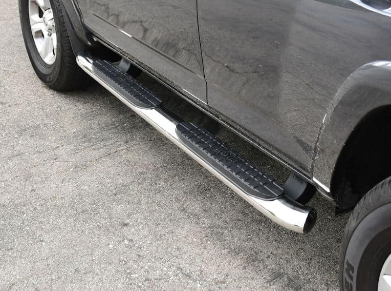 Westin Pro Traxx 4 Inch Oval Running Boards Stainless Steel