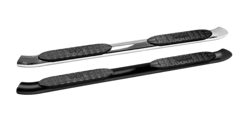 Westin Pro Traxx 5 Inch Running Board Black and Stainless Steel