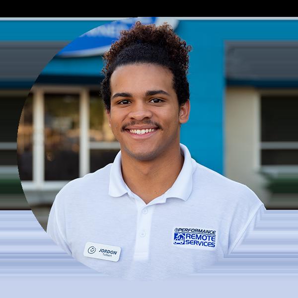 Meet Our Driver - Jordan Tolbert