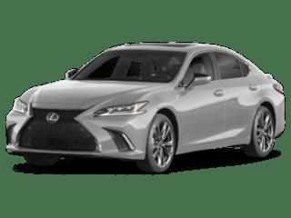 2019 Lexus ES angled
