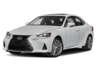 2019 Lexus IS angled