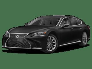 2019 Lexus LS angled